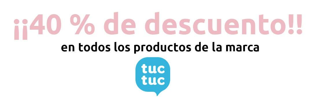 40 % descuento en TucTuc